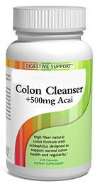 Colon Cleanser Acai 500mg (240 Caps)